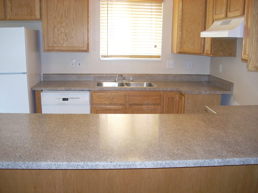 Two Different Formica Countertops | Regal Kitchens